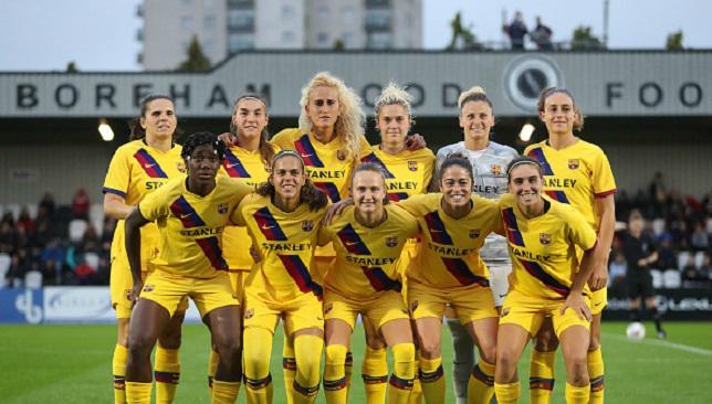 فريق برشلونة للسيدات