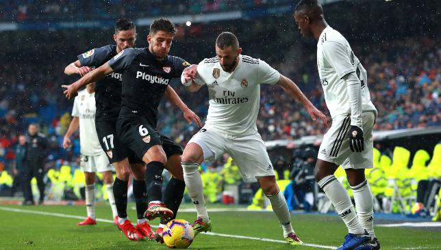 ريال مدريد في مواجهة إشبيلية