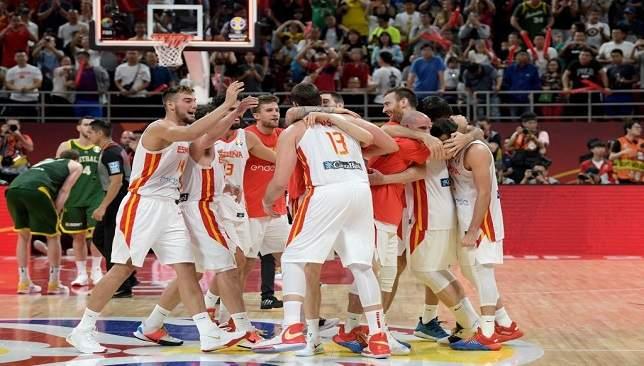منتخب إسبانيا لكرة السلة