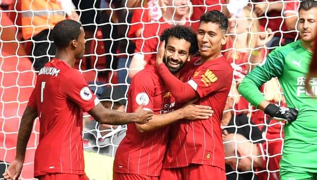 ليفربول يحتفل بالانتصار الخامس