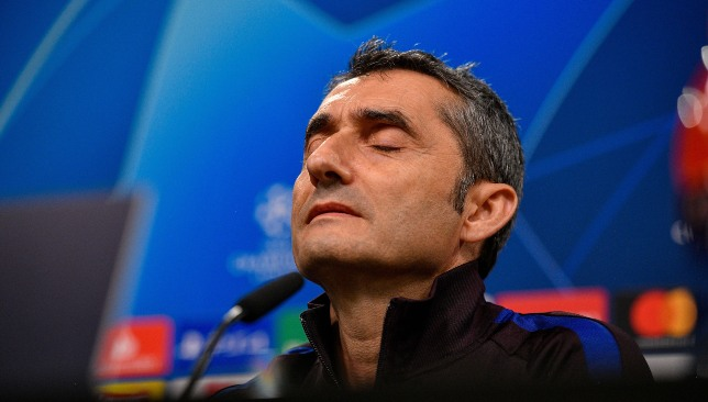 إرنستو فالفيردي مدرب برشلونة الإسباني