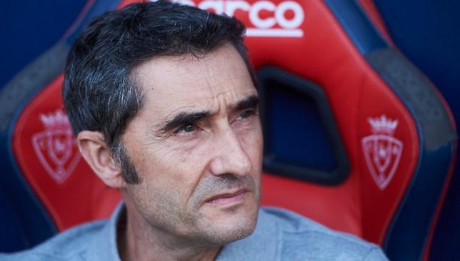 إرنستو فالفيردي مدرب فريق برشلونة