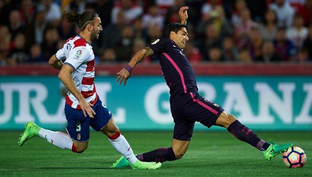 لويس سواريز نجم فريق برشلونة