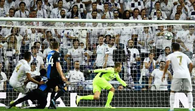 ريال مدريد وكلوب بروج