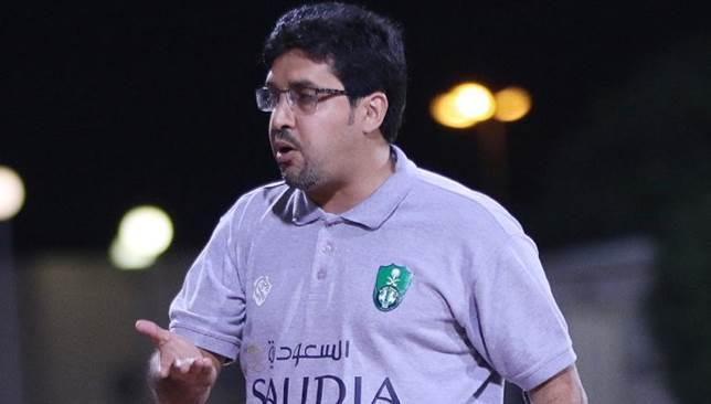 صالح المحمدي مدرب النادي الأهلي السعودي