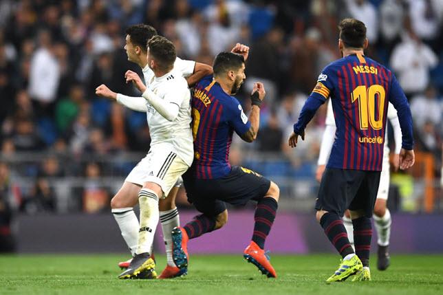 الكلاسيكو بين برشلونة وريال مدريد