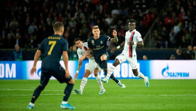 ريال مدريد في مواجهة باريس سان جيرمان