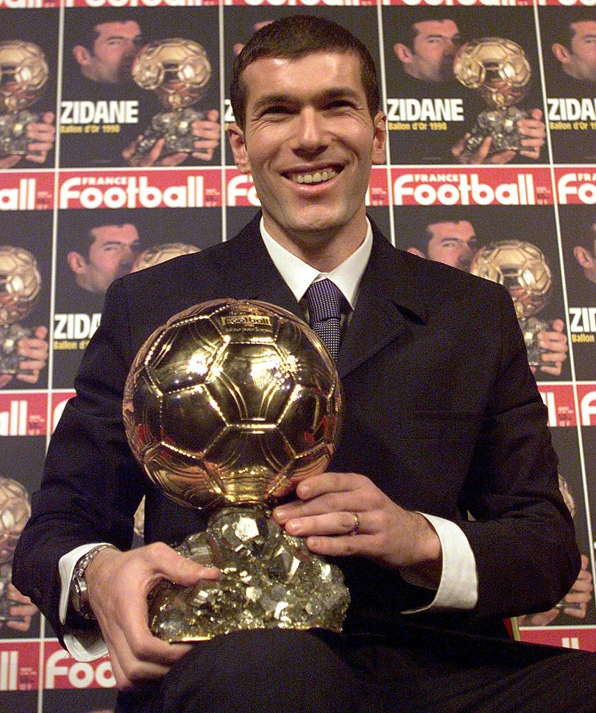 FOOT-ZIDANE-BALLON OR