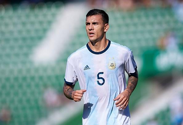 باريديس مع منتخب الأرجنتين