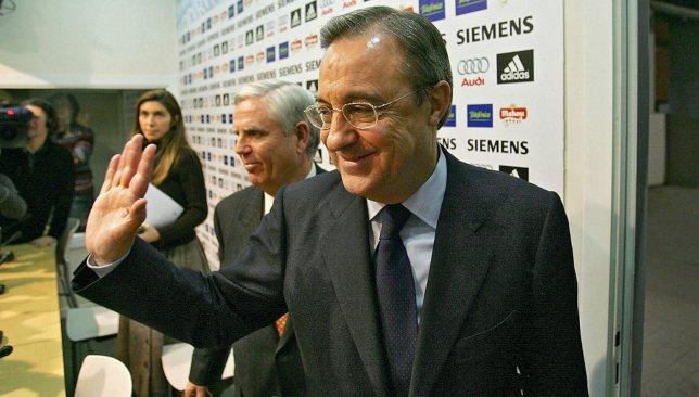 فلورنتينو بيريز يستقيل من رئاسة ريال مدريد عام 2006