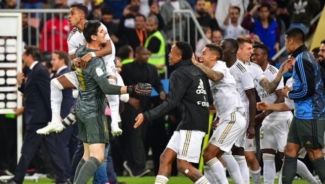 ريال مدريد بطلاً للسوبر الإسباني