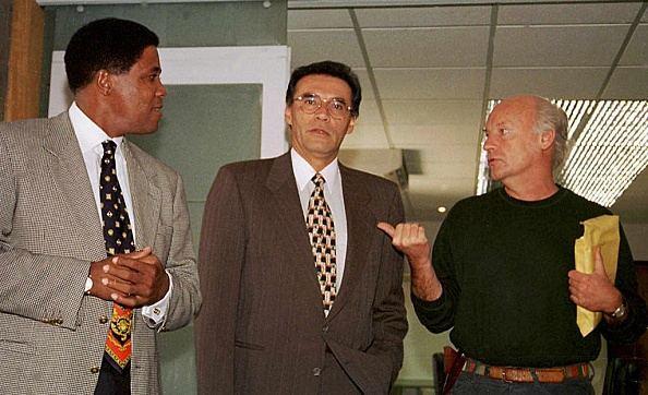 جاليانو قبل محاضرة خاصة عن كرة القدم رفقة مدرب الإكواردو السابق فرانشيسكو ماتورانو