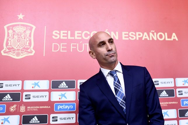 رئيس الاتحاد الإسباني لكرة القدم لويس روبياليس