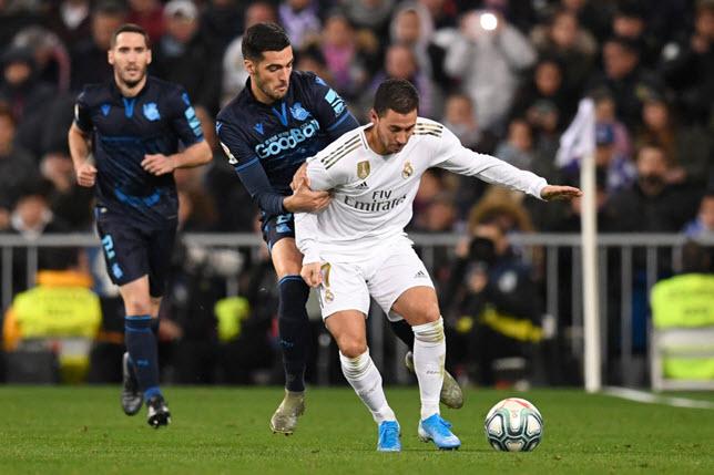 إدين هازارد لاعب ريال مدريد