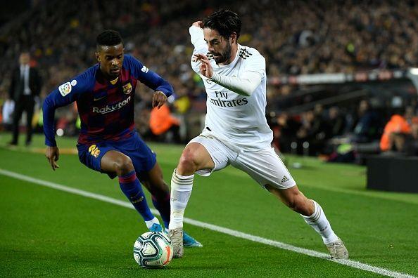 إيسكو من مواجهة الريال ضد برشلونة