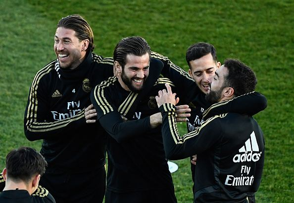 تدريبات ريال مدريد
