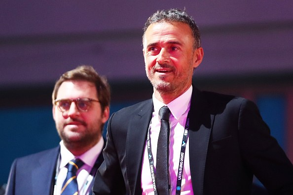 لويس إنريكي مدرب إسبانيا الحالي