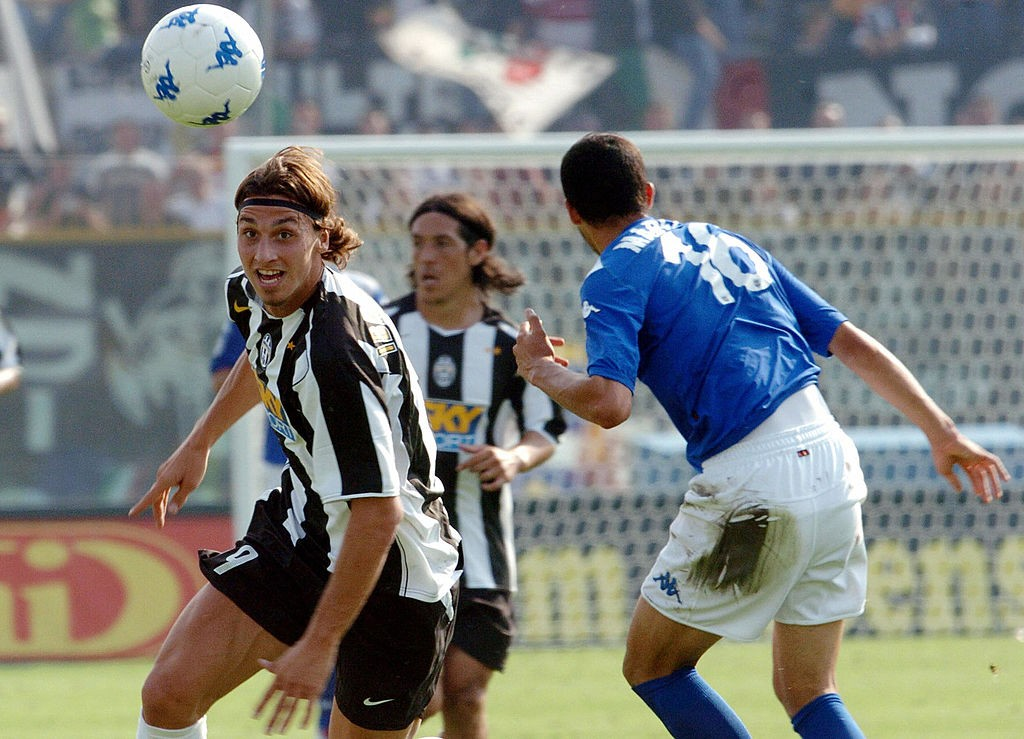 Juventus' Swedish forward Zlatan Ibrahim