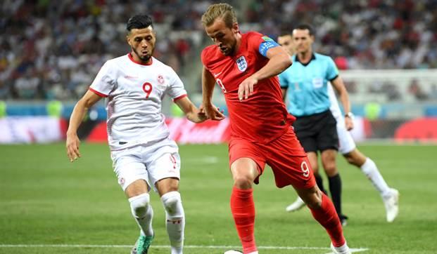 تونس وانجلترا بمونديال روسيا