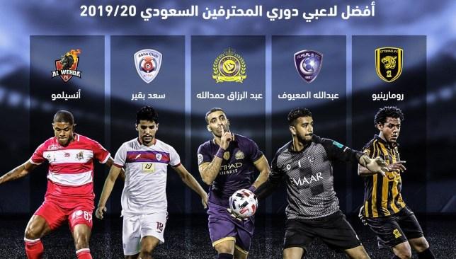 أخبار الدوري السعودي : منقذ الاتحاد ومهاجم النصر ضمن أفضل لاعبي الدوري السعودي هذا الموسم - سبورت 360