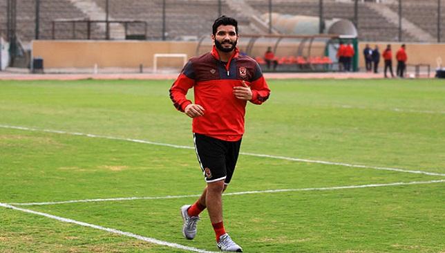 صالح جمعة لاعب النادي الأهلي
