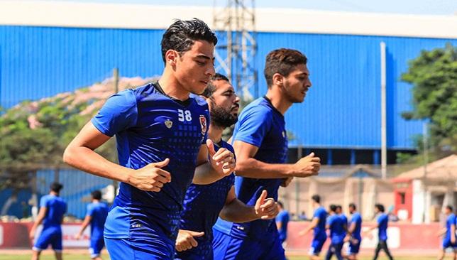 محمد شريف لاعب النادي الأهلي