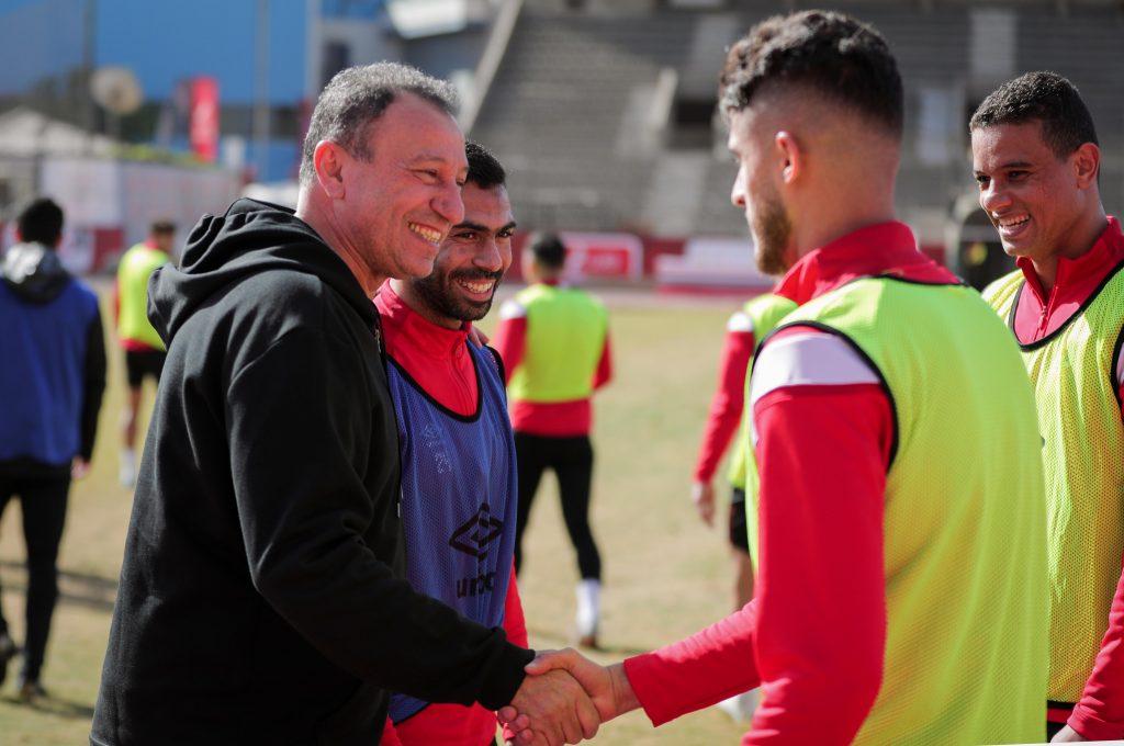 أحمد الشيخ مع محمود الخطيب