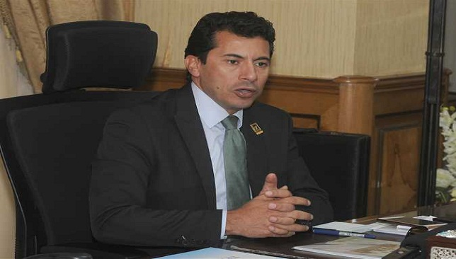 أشرف صبحي وزير الشباب والرياضة المصري