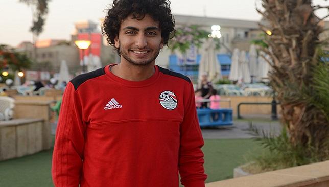 عمرو وردة لاعب المنتخب المصري وباوك