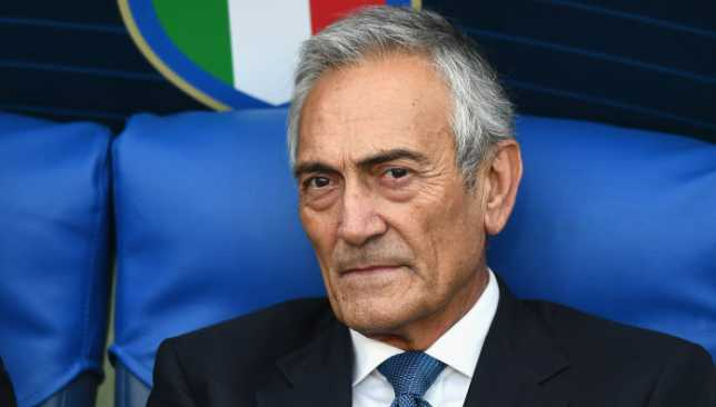 جابرييلي جرافينا - رئيس الاتحاد الإيطالي