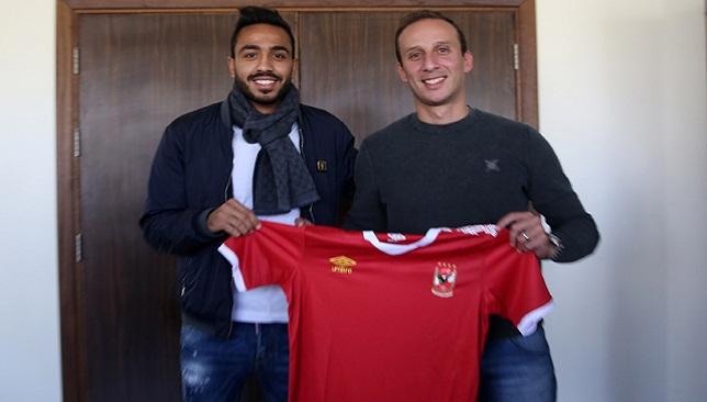محمود كهربا لاعب النادي الأهلي