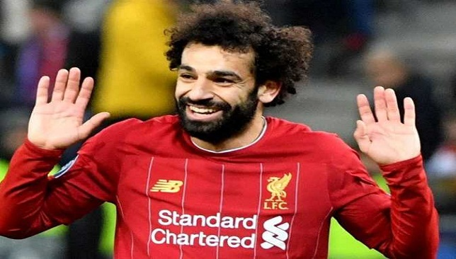 محمد صلاح لاعب ليفربول والمنتخب المصري
