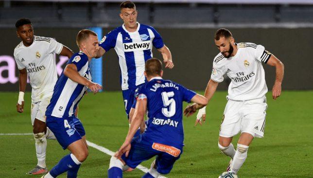 ريال مدريد وديبورتيفو ألافيس