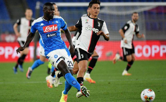 كوليبالي يزيد الغموض حول مستقبله مع نابولي