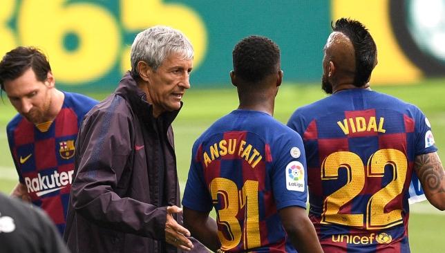 نحس غريب يضرب برشلونة في الدوري الإسباني