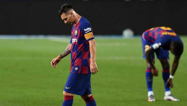 ميسي لم ينجح في إنقاذ برشلونة هذه المرة