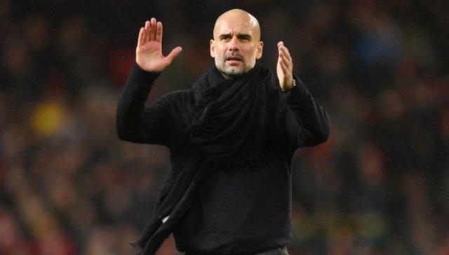 غوارديولا يغيب عن الموسم السابق لمانشستر سيتي بسبب ميسي