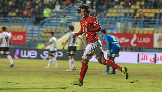 محمد هاني لاعب النادي الأهلي