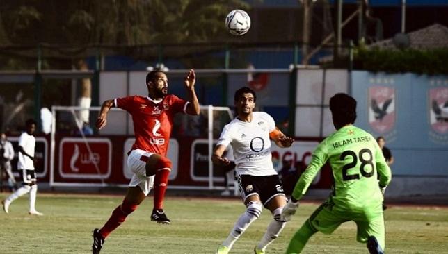 موعد مباراة النادي الأهلي اليوم ضد الجونة في الدوري المصري