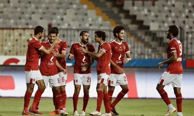 تشكيلة النادي الأهلي في مباراة اليوم ضد وادي دجلة في الدوري المصري