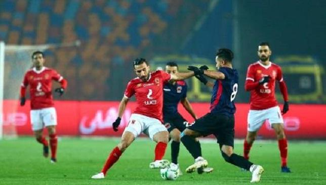 الأهلي - نادي مصر - الدوري المصري