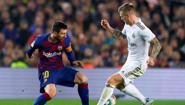 ريال مدريد وبرشلونة - الدوري الإسباني