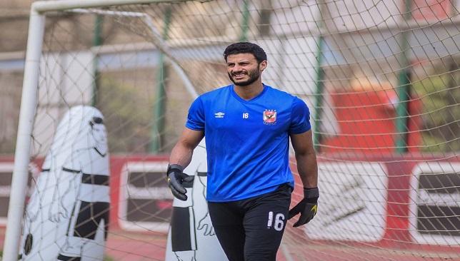 محمد الشناوي- النادي الأهلي- الدوري المصري