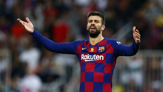 جيرارد بيكيه - برشلونة - الدوري الإسباني