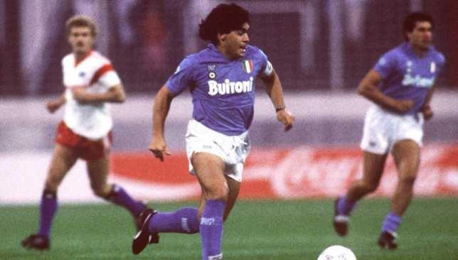 دييجو مارادونا - منتخب الأرجنتين