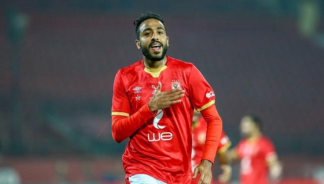 محمود كهربا - لاعب النادي الأهلي