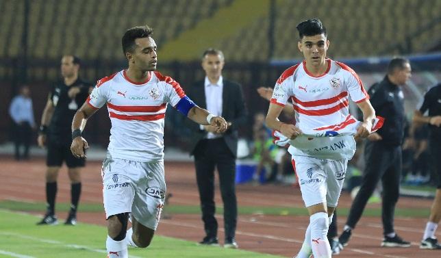 أشرف بن شرقي - نادي الزمالك - الدوري المصري