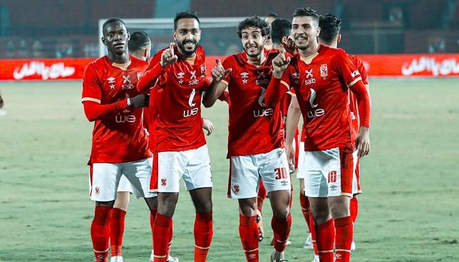 محمد هاني- لاعب النادي الأهلي- الدوري المصري