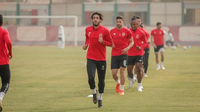 محمد هاني - لاعب النادي الأهلي