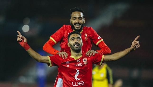مباراة الأهلي والمقاولون- الدوري المصري